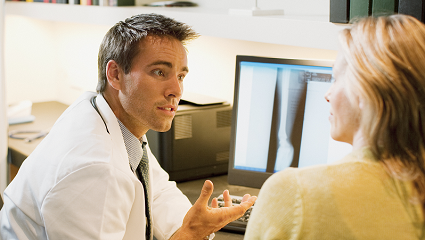 Delivering the Results of Imaging Examinations Can Improve Patients' View of Radiologists